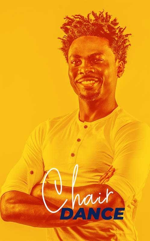 Taiwo Adeleye chair-dance Dance Classes